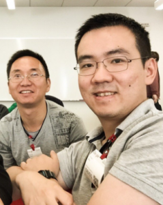 Jihan Wu and Micree Zhan Bitcoin investors