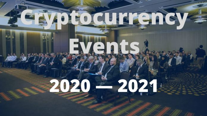 Cryptocurrency Events 2020 to 2021