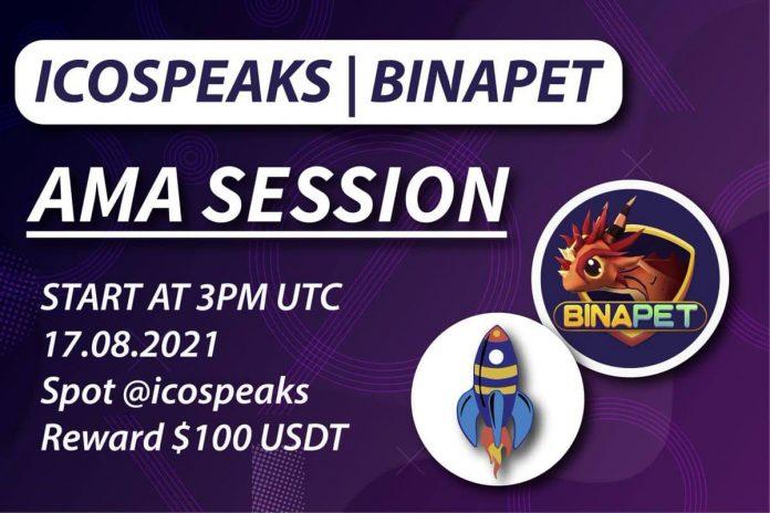 binapet ama as ico speaks