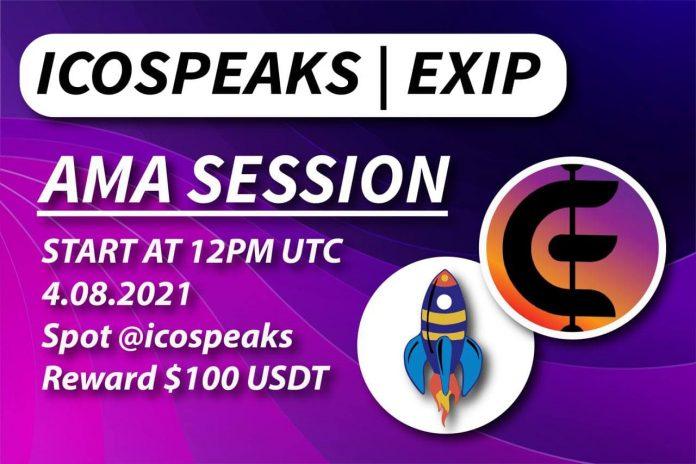 exip ama session at ico speaks