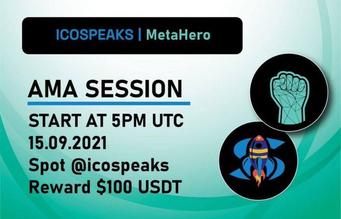 metahero ama at ico speaks