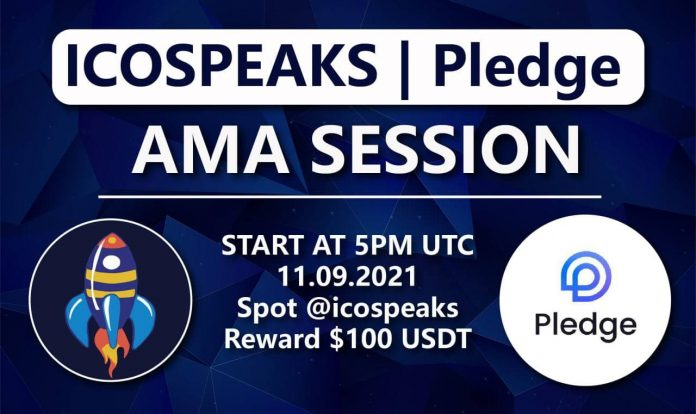 pledge ama at ico speaks