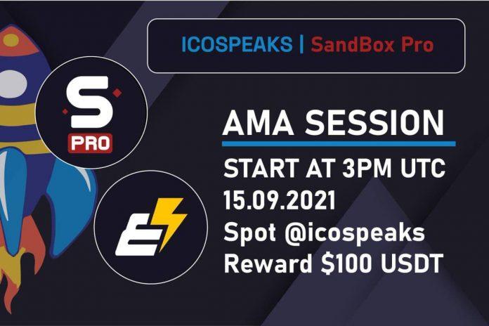 sandbox pro ama at ico speaks