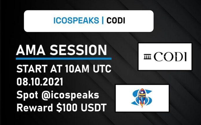 codi ama at ico speaks
