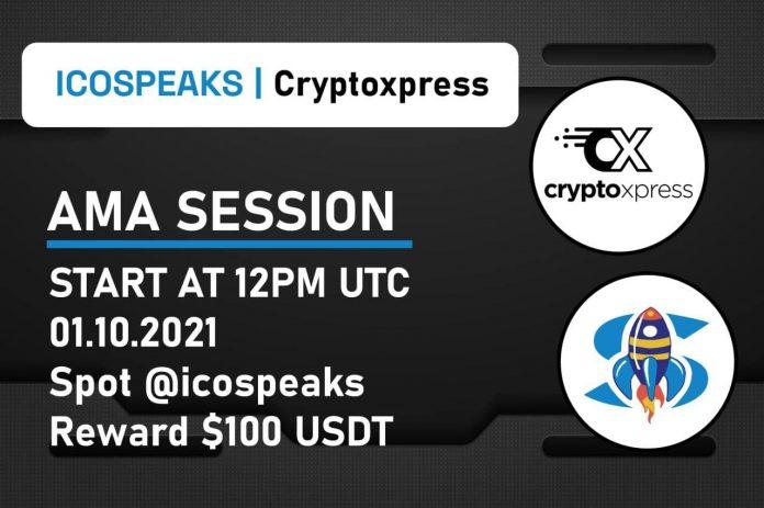 cryptoxpress ama at ico speaks