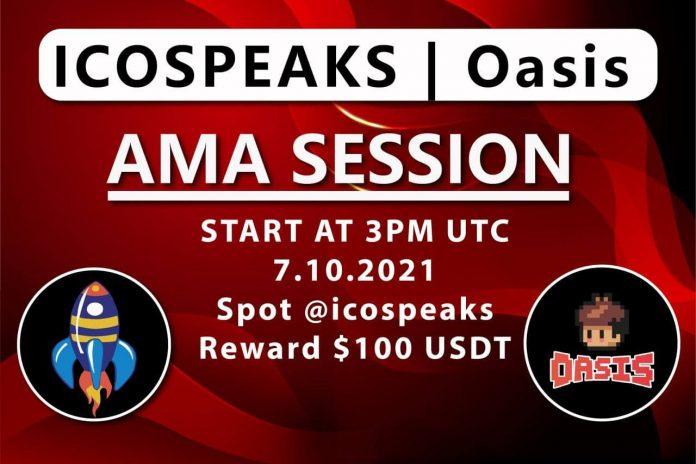 oasis ama at ico speaks